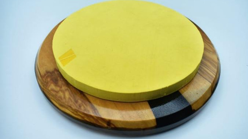 """Practice Pad 8"""" - Black and Yellow"""