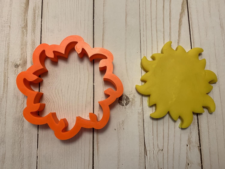 Thumbnail: Celestial Sun Cookie Cutter