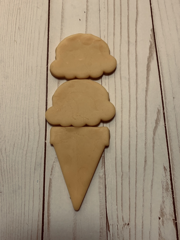 Thumbnail: Ice cream cookie cutter set