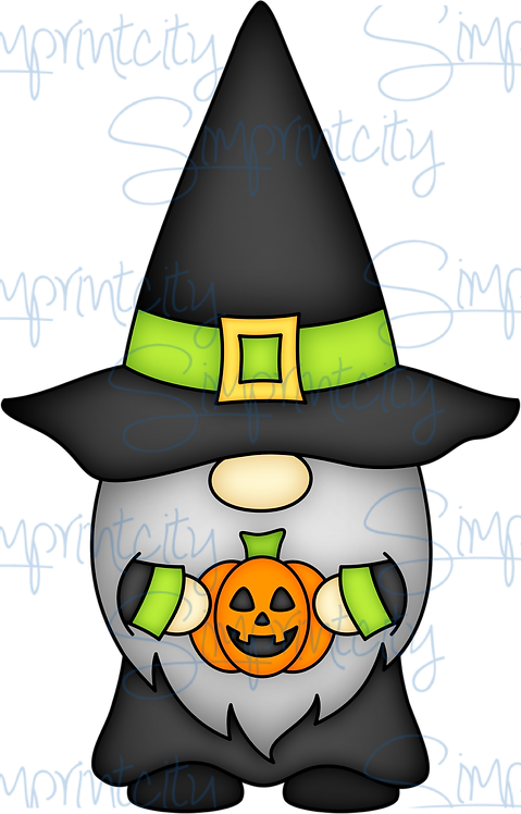 Witch Gnome with Point Hat Cookie Cutter