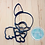 Thumbnail: Corgi Cookie Cutter platter with a Bow