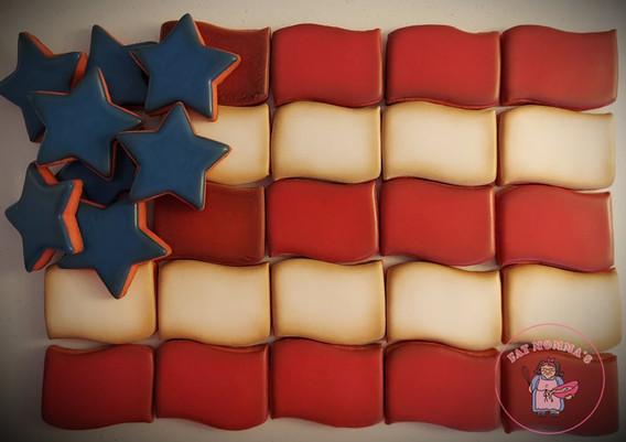 Full Flag platter by Mary.jpg