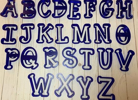 Alphabet Cookie Cutter Set