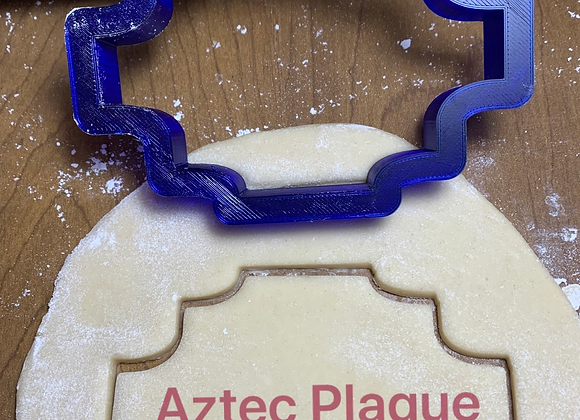 Aztec Plaque Cookie Cutter