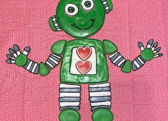 Robot Cookie Cutter Set