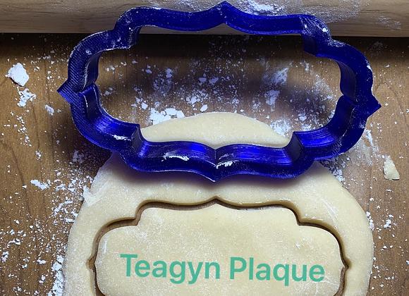 Teagyn Cookie Cutter Plaque