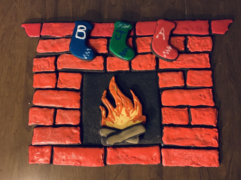 Thumbnail: Fire Place Cookie Cutter Set