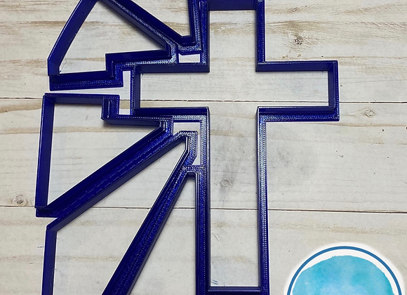 Stained Glass Cross Cookie Cutter set