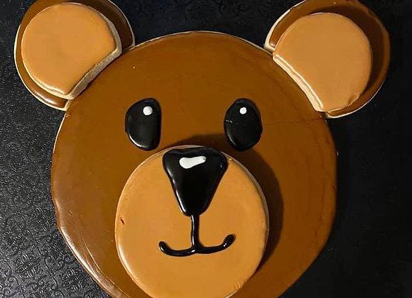 Large Bear cookie Cutter Platter