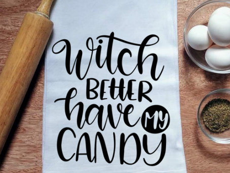 Halloween! Better have your candy ready.