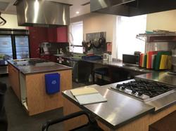 Our prep kitchen