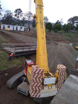 Moving Bridge Section
