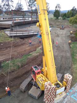 Moving Bridge sections