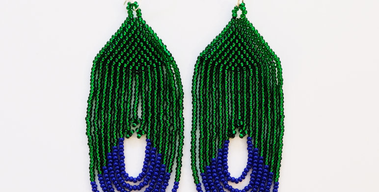 Cascade Vert / bleu