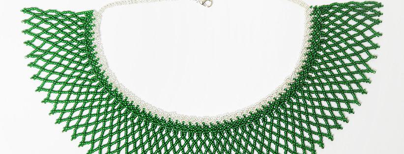 Grid Vert / Argent