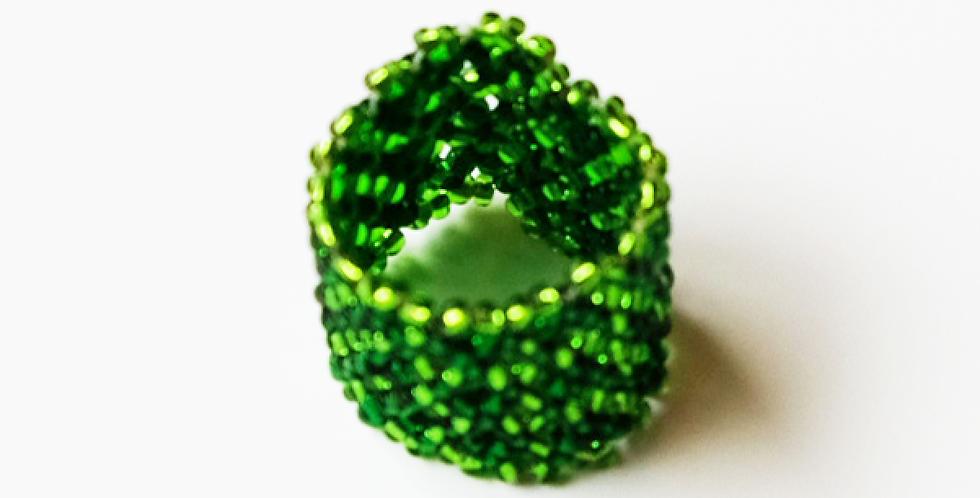 Bague Vert