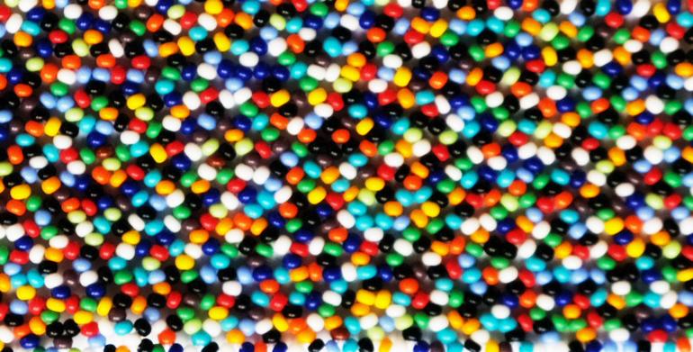 Zig Zag M Multicolore