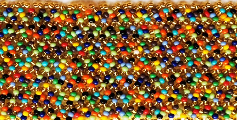 Zig Zag M Or / Multicolore
