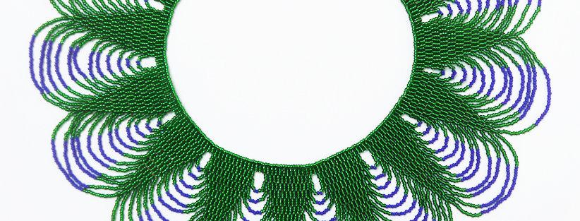 Peacock Vert / Bleu