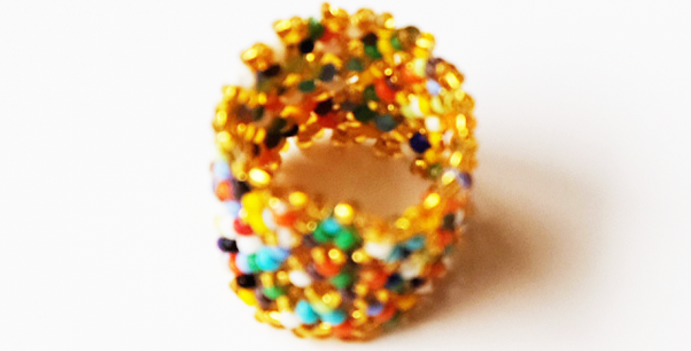 Bague Or / Multicolore