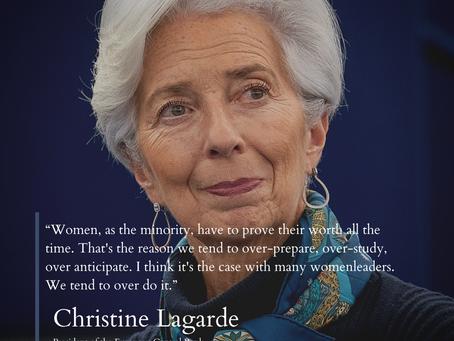 Women leaders in Finance - Christine Lagarde