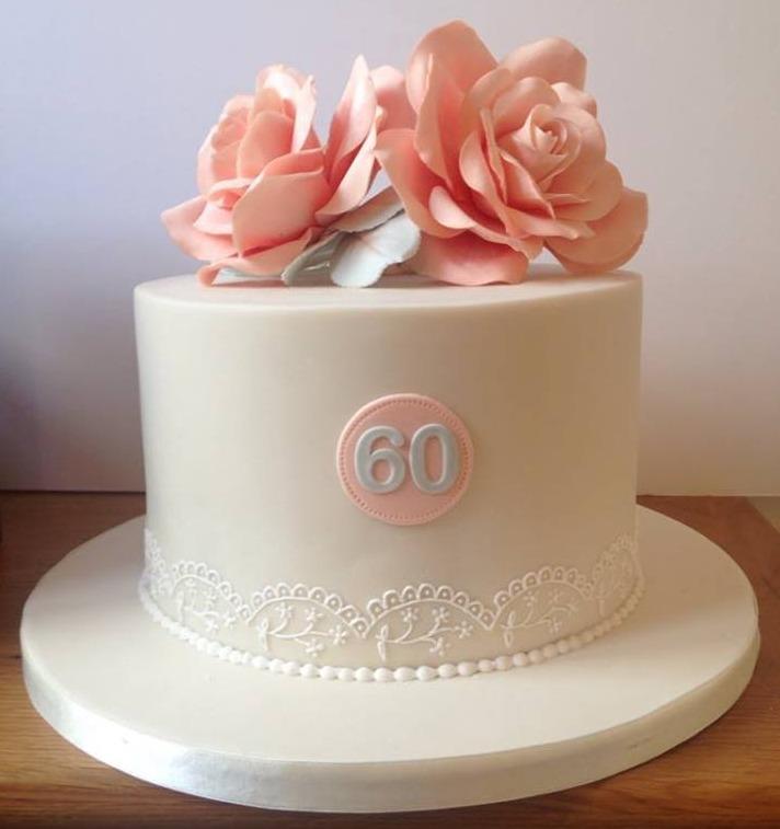 Sharp edged Birthday cake