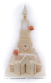 church cake by deborah's cakes and sugarcraft
