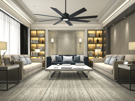 Ceiling Fans: To See or Not to See, That Is the Question
