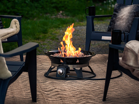 Outdoor Fire Features Are Hot