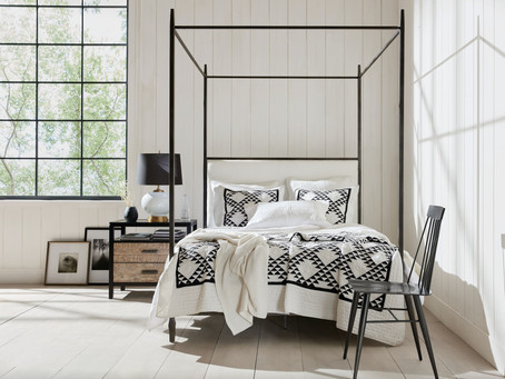 Black-and-White Interiors Bring Certainty to Uncertain Times