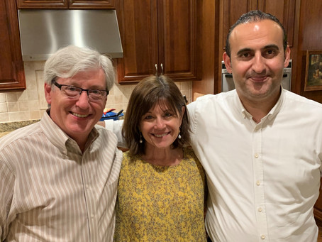 Dinner Party Marks End of an Era, Helps Put Pandemic in the Past