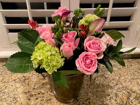 Floral Arrangements Part 1: Some Advice to Florists