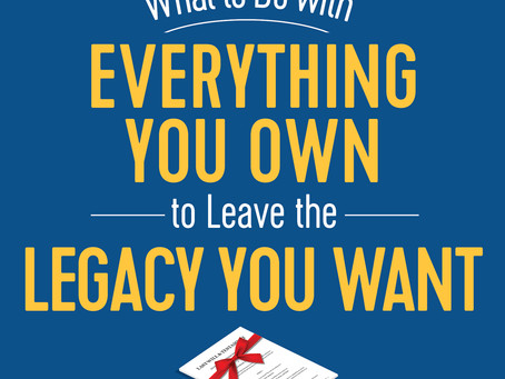 New Book Explores How Stuff We Own Now Can Make a Meaningful Difference Later