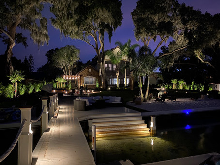 Landscape Lights Add Finishing Flourish to Yard Makeover