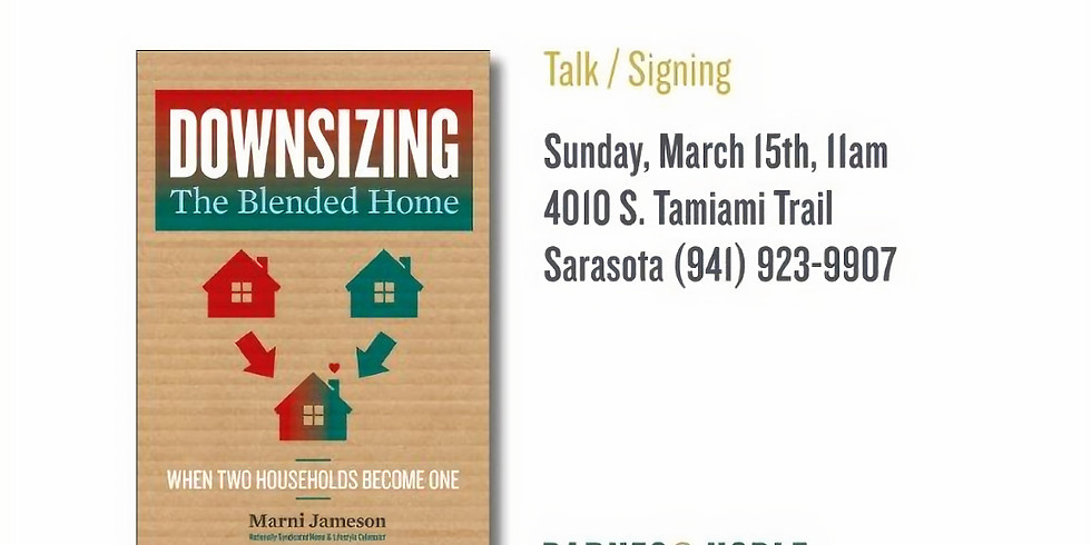 Book Signing - Downsizing the Blended Home