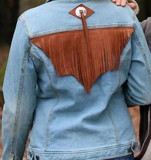 Blouson Jeans avec franges
