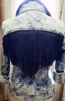 blouson Jeans relookage