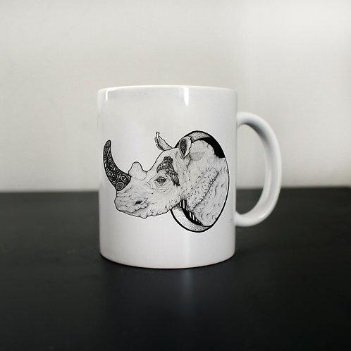 RHINO OUT mug