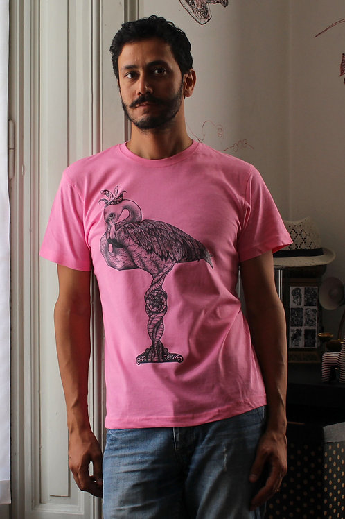FLAMINGO PINK T-SHIRT - VERY LIMITED EDITION