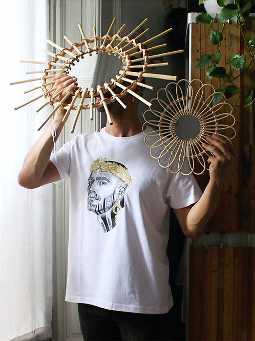 CESAR GOLD PRINT T-SHIRT - LIMITED EDITION