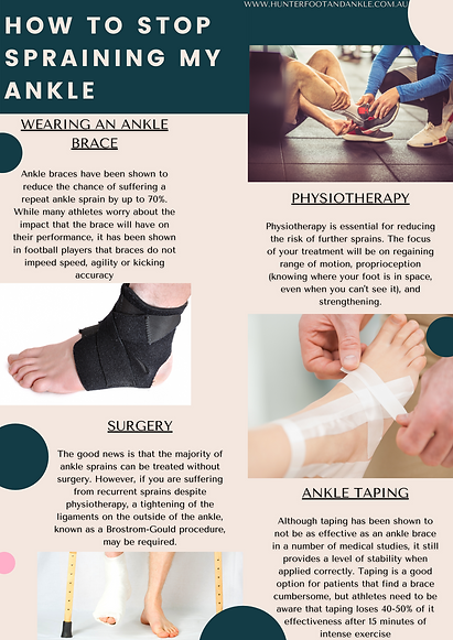 How to Stop Spraining My Ankle