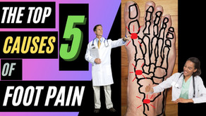 The Top 5 Causes of Foot Pain!