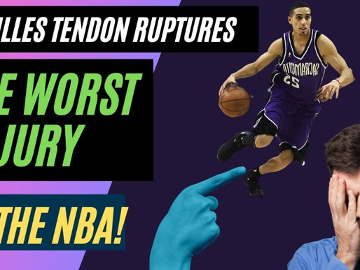 How Achilles Tendon Ruptures Affect the Performance of Players in the NBA!