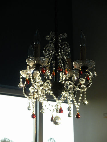 chandelier in Youthologie offie