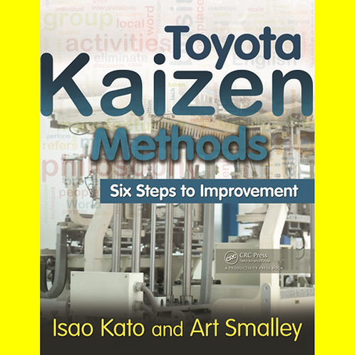 Toyota Kaizen Methods - Six Steps to Improvement