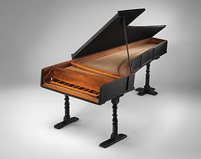 Одно из первых фортепиано Кристофори (1720), фото