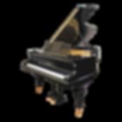 Черный кабинетный немецкий рояль Blüthner Лейпциг классический (фото)