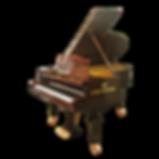 Старинный коричневый классический рояль К. Бехштейн (фото)
