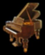 Коричневый рояль корень ореха Бехштейн Классик (фото)