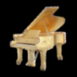 Золотой рояль Сусальное золото FAZIOLI Италия (фото)